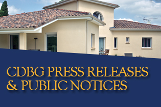 CDBG Press Releases